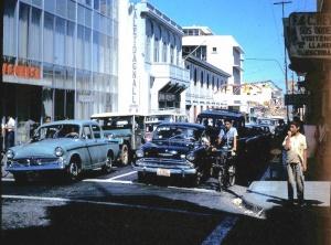 Banco Nicaragüense. Avenida Roosvelt.