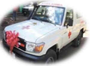 Ambulancia valorada aproximadamente $ 55,784.