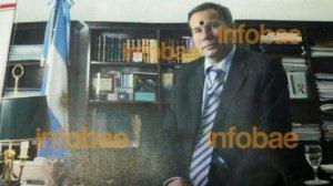 La sugetiva imagen de Nisman