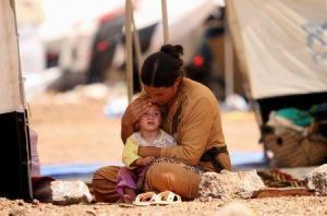 Militantes del Estado Islámico están vendiendo niños secuestrados en el mercado como esclavos sexuales.
