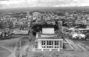 Foto. 6.  Vista aérea del Teatro Nacional Rubén DarÃ-o. (2)