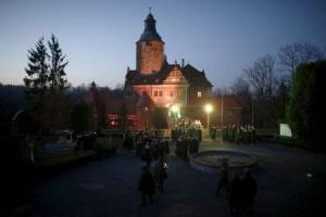 castillo en Polonia