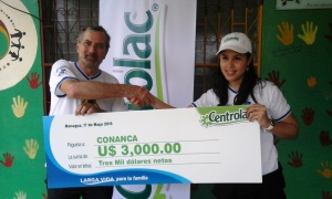 Donación de Centrolac a La Mascota