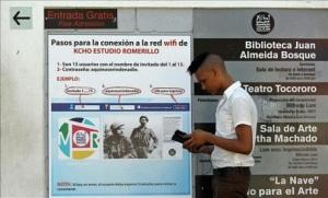 Cuba es uno de los países del mundo con menor tasa de conectividad a internet, el 5%, porcentaje que se reduce al 1% en el caso de la banda ancha. EFE/Archivo