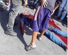 El hombre asesinado fue identificado como Gustavo Patiñez. (Foto: Jorge Osuna Saviola/TWITTER)