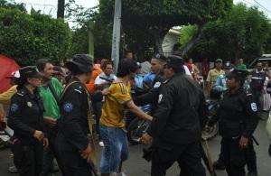 Policia en Santo Domingo