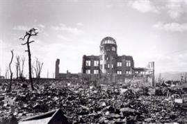 Hiroshima fue una de las ciudades japonesas bombardeadas por Estados Unidos. Foto: EFE
