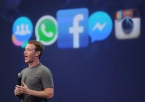 Mark Zuckerberg, presidente y fundador de Facebook, habla durante una cumbre en San Francisco, el 25 de marzo de 2015 (AFP | Josh Edelson)