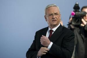 Martin Winterkorn, durante una rueda de prensa el 13 de marzo de 2014 en Berlín (AFP/Archivos | Johannes Eisele)