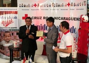 Fota - Taiwan coopera con cruz Roja 2