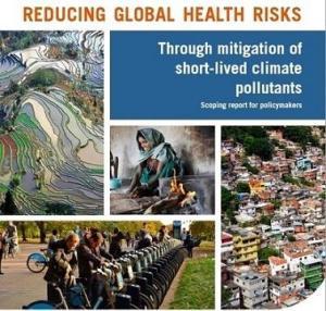 Como reducir los riesgos para la salud de los contaminantes climáticos.