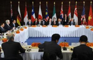 Reunión de líderes por el acuerdo TPP el 10 de noviembre de 2014 en Pekín (AFP/Archivos | Mandel Ngan)