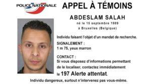 Esta es la foto de Abdeslam Salah que dio a conocer la policía francesa.