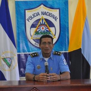 Comisionado Iván Escobar, Jefe de Secretaría Ejecutiva de la DSTN.