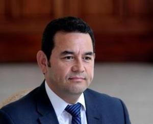 Jimmy Morales, presidente electo de Guatemala.