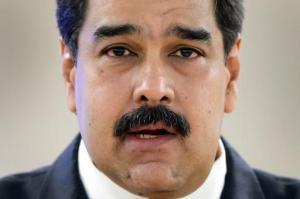 El presidente venezolano Nicolás Maduro ante el Consejo de Derechos Humanos de las Naciones Unidas en Ginebra el 12 de noviembre de 2015 (AFP/Archivos | Fabrice Coffrini)