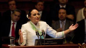 La presidenta del Parlamento de Ecuador apoya la posibilidad de la reelección de Correa.