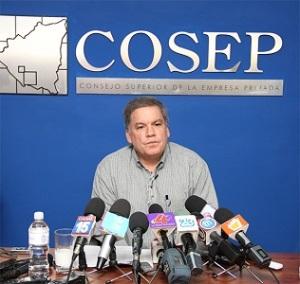 Lic. José Adán Aguerri, Presidente del COSEP.