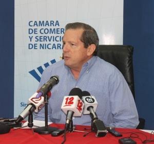 Rosendo Mayorga, Presidente de la Cámara de Comercio y Servicios de Nicaragua (CCSN).