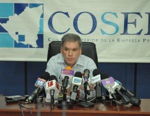 Lic. José Adán Aguerri, Presidente del Consejo Superior de la Empresa Privada (COSEP). Foto | CAWTV