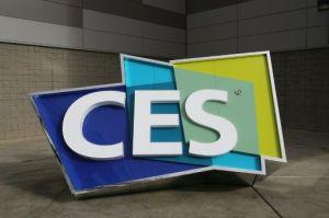 Cartel oficial del salón de electrónica -Consumer Electronics Show, CES- en Las Vegas, Nevada, el 7 de enero de 2016 (AFP | David Mcnew)