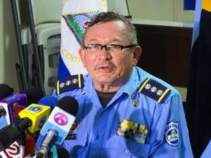 Comisionado Mayor José Calderón Mena, Jefe del Distrito Seis de Policía.