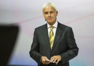 Matthias Muller el 14 de septiembre de 2015 en Francfort (AFP/Archivos | Odd Andersen)