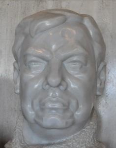 Busto de Rubén Darío en el Teatro Nacional. Foto: Archivo | CAWTV