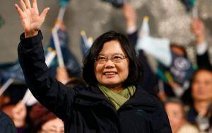 Tsai Ing-wen. (AFP)