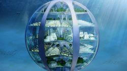"""A medida que las ciudades crecen, los expertos predicen la construcción de ciudades bajo el mar en forma de """"burbujas"""" habitables."""